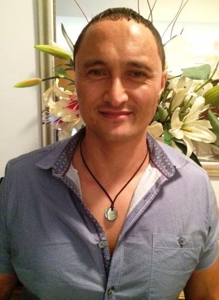 Charles from Gold Coast wearing Unity Necklace