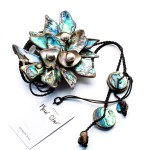 Libby Pool Fleur Star Necklace Final