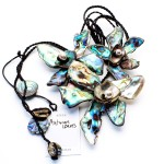 Libby Pool Jewellery and Design Autum Leaves Necklace
